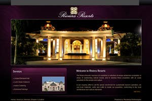 Riviera Resorts - Website for leading wedding resort