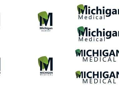 Michigan Medical logo concept