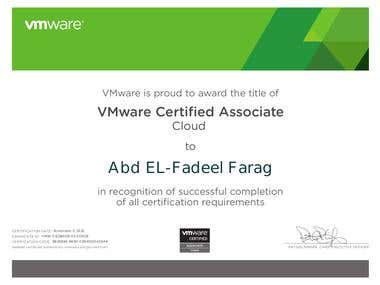 VMware Certified Associate Cloud