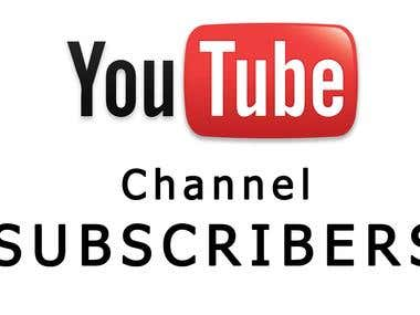 Provide You Real Permanent YouTube Subscribers