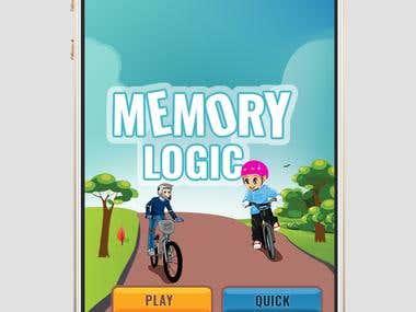 Memory logic game