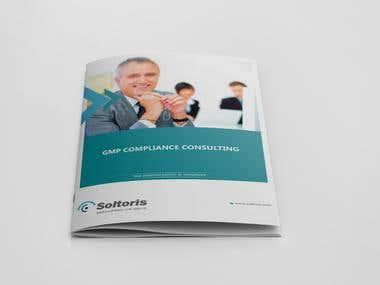 Soltoris I Brochure design