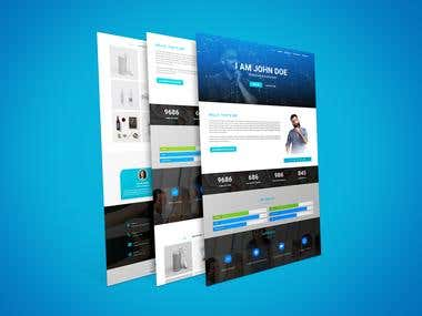 PSD to HTML5 Responsive Template