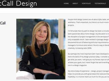 Kim McCall Design, About Us