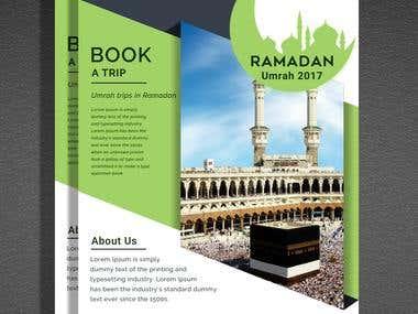 Ramadan Umrah Poster ad