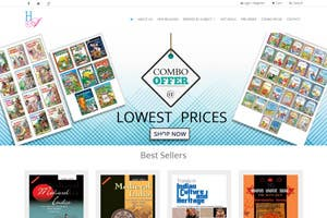 Haranand Books - ECommerce website for selling books online