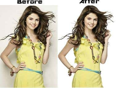 Hair Masking & Background Remove..