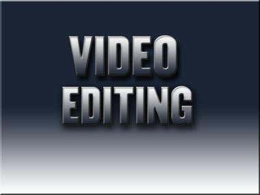 VIDEO EDITING OF ANY KIND (PORTFOLIO IN DESCRIPTION)