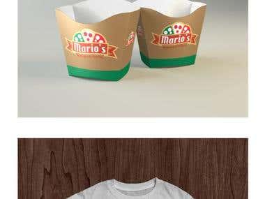 Logo for Italian restaurant and pizzeria