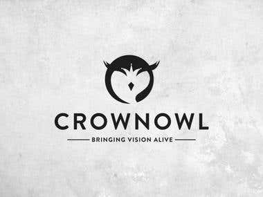 CrownOwl - logo design and Branding