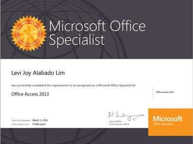 Certified Microsoft Office Specialist - Excel 2010