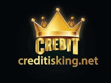 Credit is King Logo Design