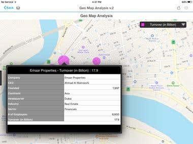 Geo Map Analytics
