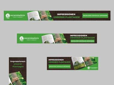 Web Banner Design for Google and FB