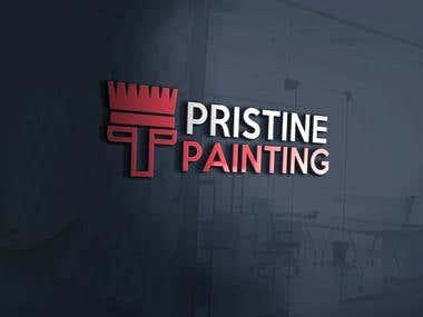 Pristine Painting Logo