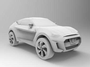 Car Design (LOW POLY)