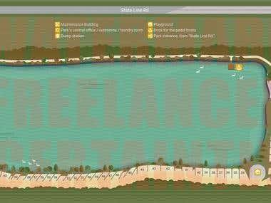 Map design/illustration
