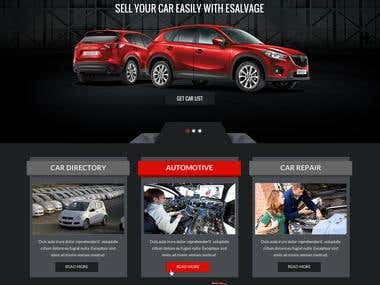 Esalvage car classified directory