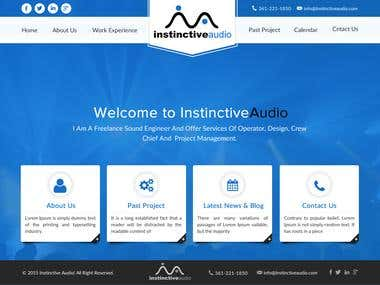 Instinctive audio website