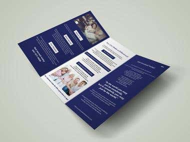 Tri-Fold Brochure Designs / Jewish Senior Circle