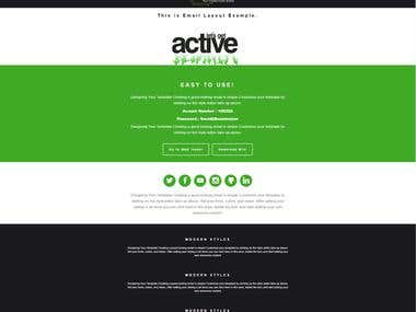 Responsive Email Template Build