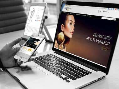 Jewelry Magento Multivendor