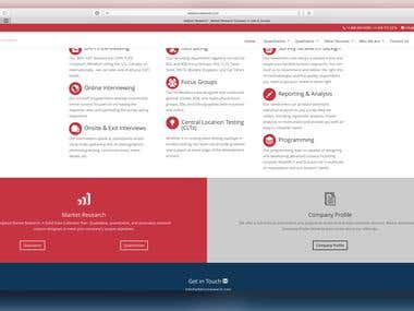 Research Website