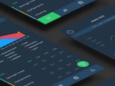 Budget management app