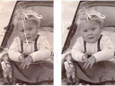Photo Repair/Restoration