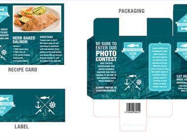 label, package design