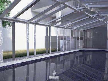 Exterior Design Pool
