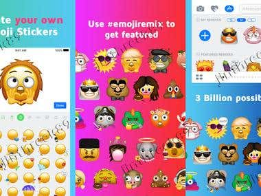 Emoji Remix: Make your own emojis