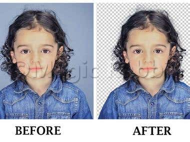 Background Removal - Hair Masking