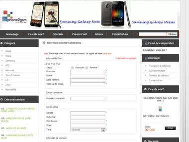 Online Store, OSCommerce