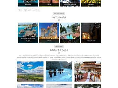 Tours and Travel Website with WordPress