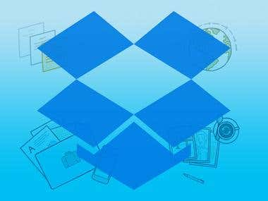 Upload Images/Videos on Dropbox
