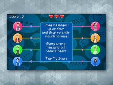 Love Messenger Game