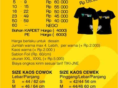 Price List Design