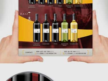 Flyer - Chilean Wine
