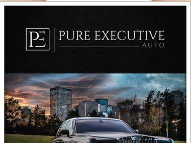 Design a Brochure for Luxury Limousine Service
