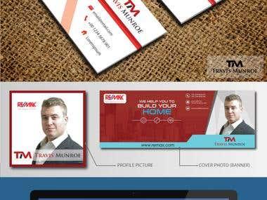 Logo, Business card, Banner Designs