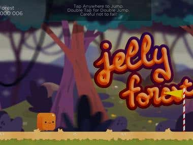 Jelly Forest: Jump and Run Platformer