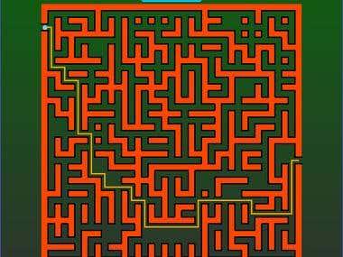 Random Maze Generator (JavaFX)