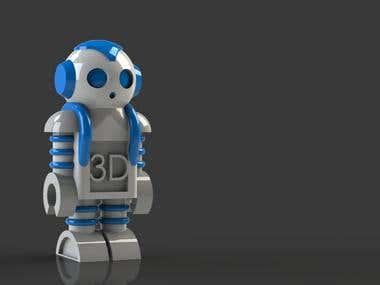 3D design for 3D print