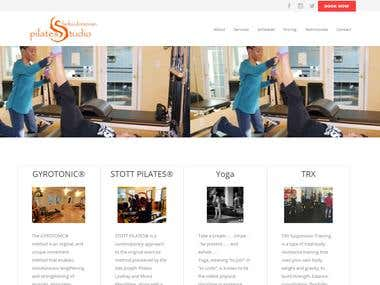Pilates studio Shelia Donovan