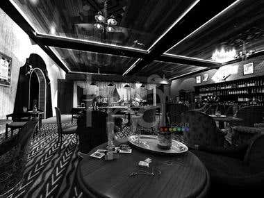 3D Model/Render for Interior (Jazzie Cabaret)