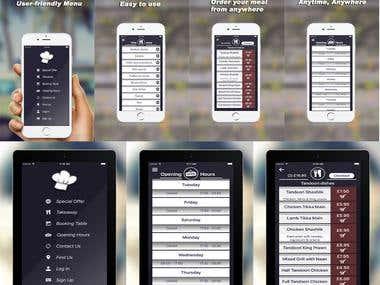 ShahnazBalti app(Takeaway order)