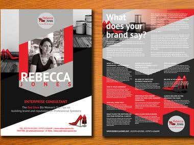 Rebecca Jones Business Flyer