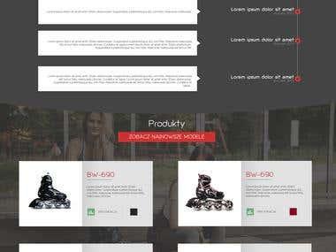 Wordpress completely website