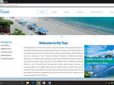 Online Travel and Tourism System with Strong Database